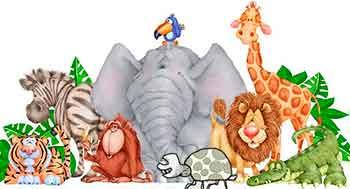 chiste corto con animales de la selva