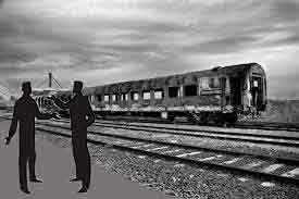 chiste corto de borrachos y el tren